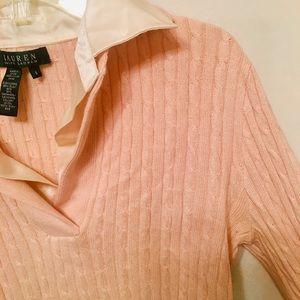 Cashmere Cardigan | Soft Pink | Ralph Lauren